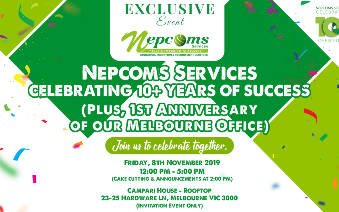 Nepcoms Services 10+ Years of Success Party